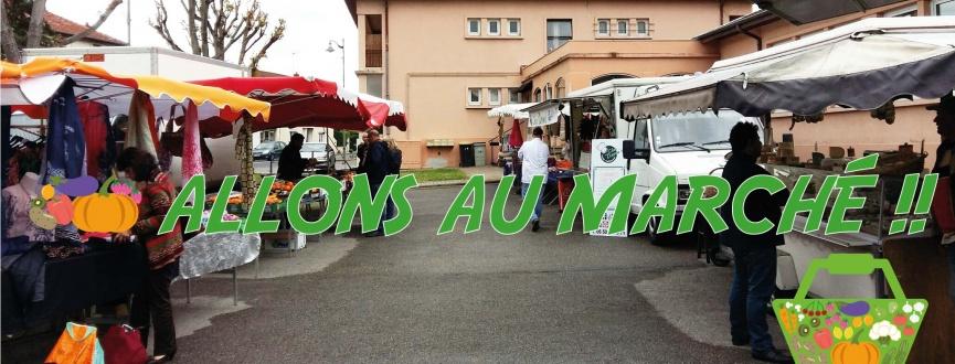 Allons au marché